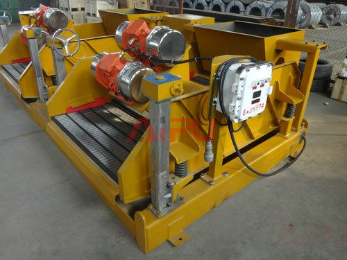 dual shale shaker for dilling mud