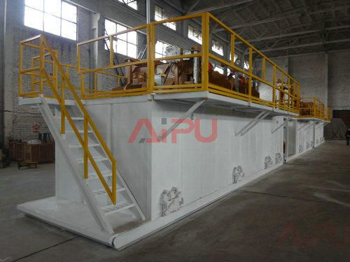 drilling mud cleaning system
