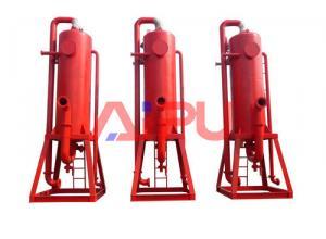 Drilling fluids mud gas separator