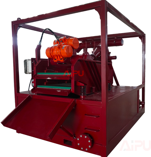 Pilling mud recycling shale shaker feedback