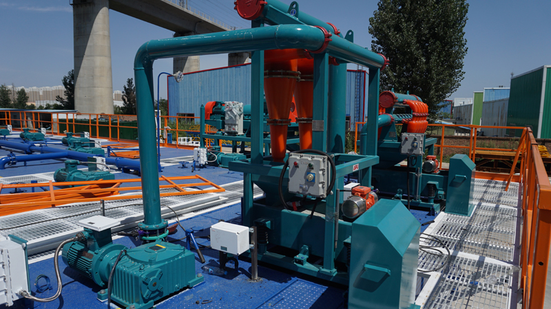 Drilling Mud Solids Control System