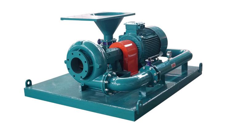 Jet mixing pump
