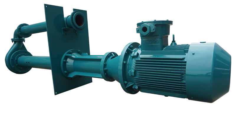Submersible feed pump