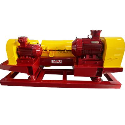 Mud system decanter centrifuge