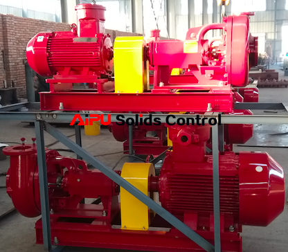 Delivery of centrifugal pump for oil drilling solids control