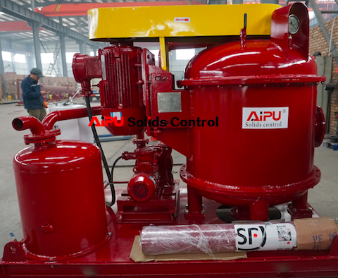 Oil drilling vacuum degasser delivery