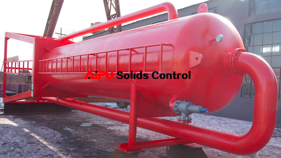 Oil drilling mud gas separator for sale