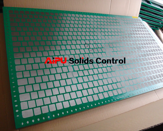 Aipu solids control screen to be delivered