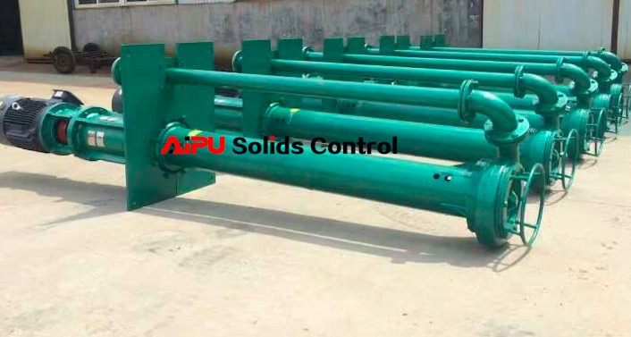 Submersible slurry pumps delivery in February