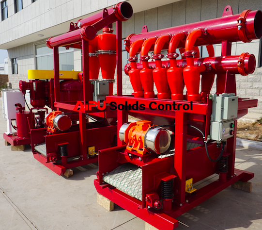 solids control equipment-desander and desilter