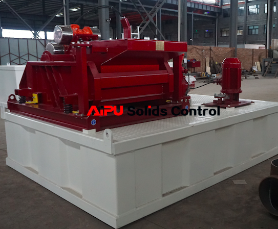 Drilling waste management unit delivery