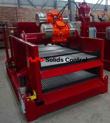 Well drilling dryer shaker