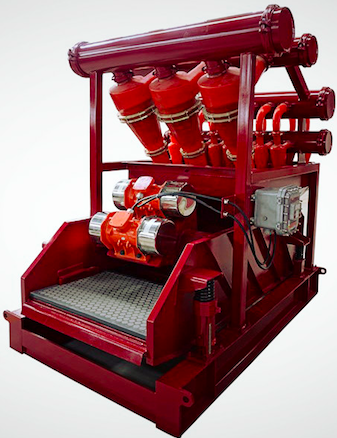 Well drilling mud cleaner