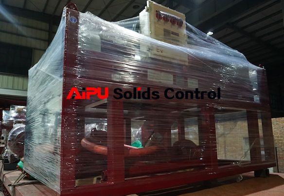Solids control equipment for ZJ50 Oil rig