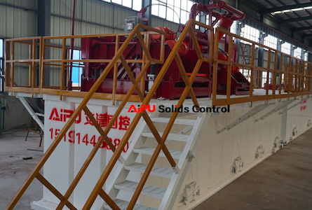Solids control equipment during drilling