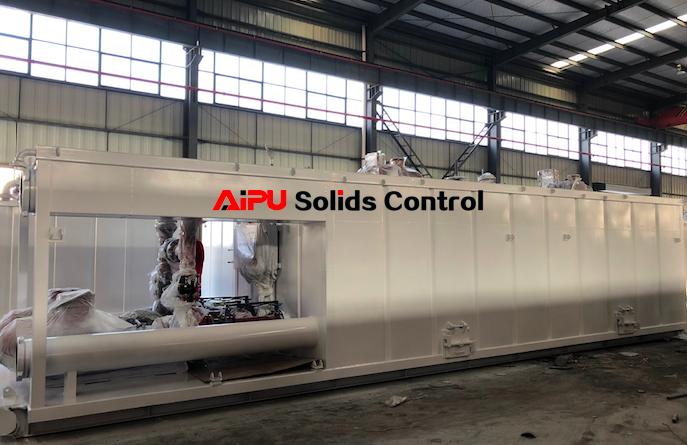 Solids control system for ZJ50