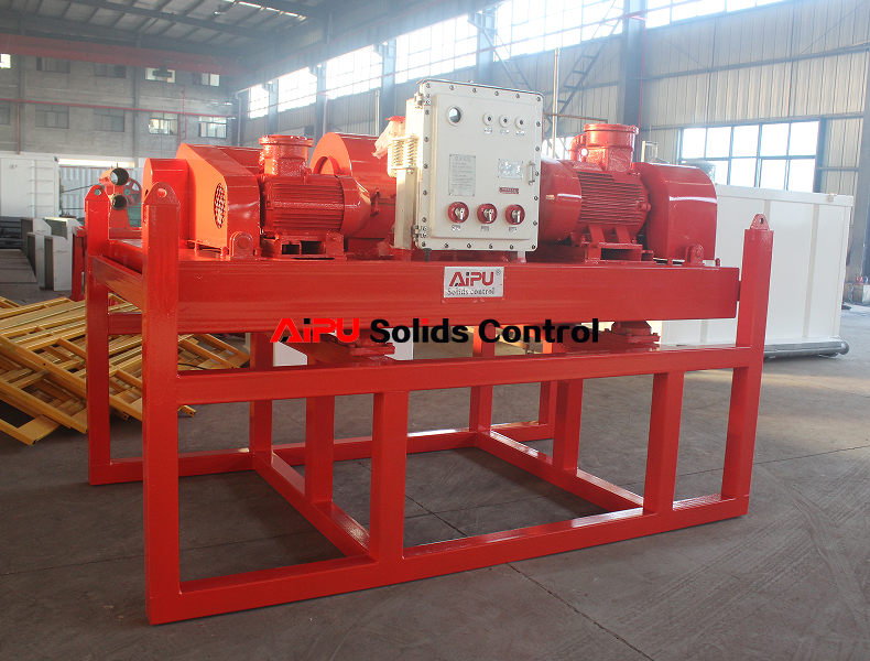 Oil drilling mud centrifuge ready to deliver
