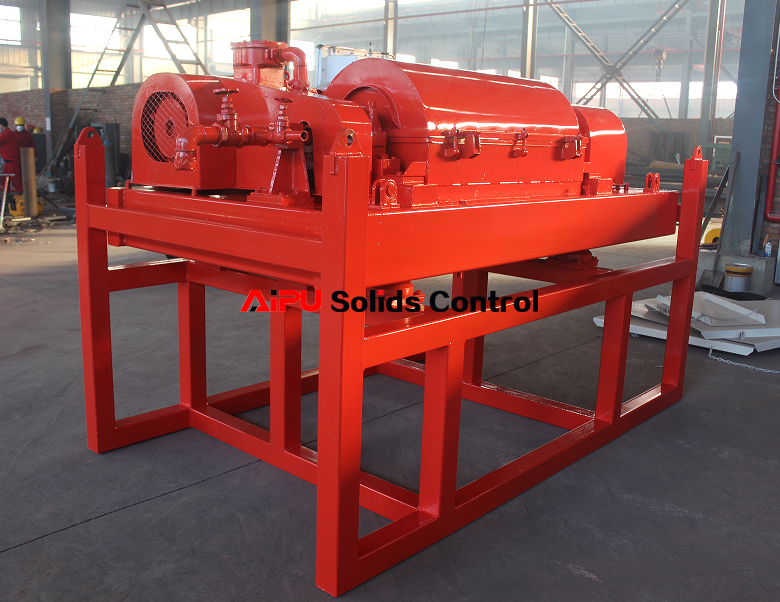 Decanter centrifuge ready to deliver