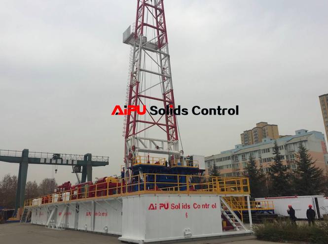 ZJ50 rig mud system got high appreciation from customer