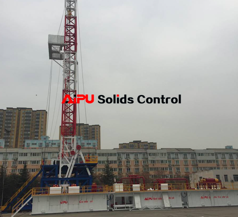 Oil rig solids control system
