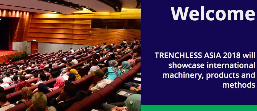 Aipu welcome you visit TRENCHLESS ASIA 2018 on May.7-8