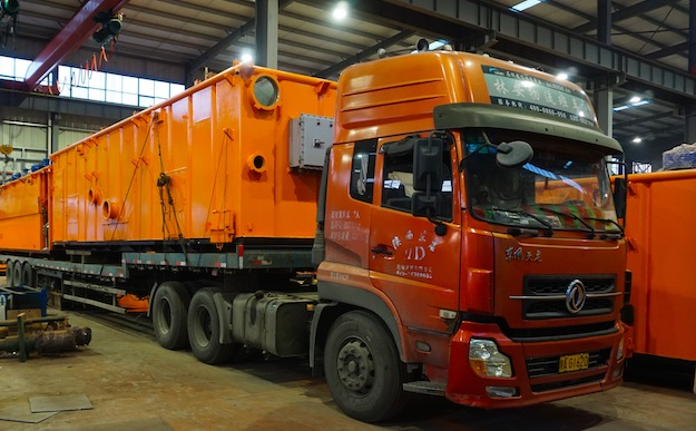 ZJ70 Rig solids control system delivery