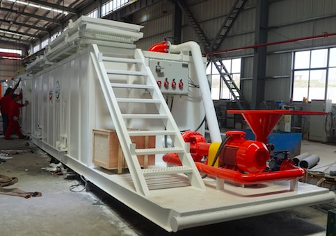 ZJ20 rig solids control system delivery