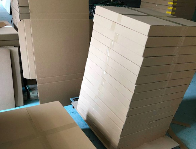 Shaker screens delivery
