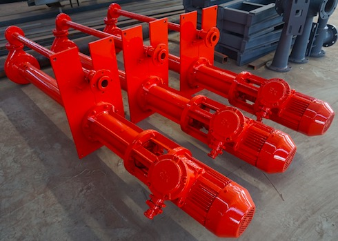 Submersible slurry pumps delivered to Russia