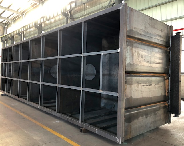 Diesel oil tanks for CNPC overseas project