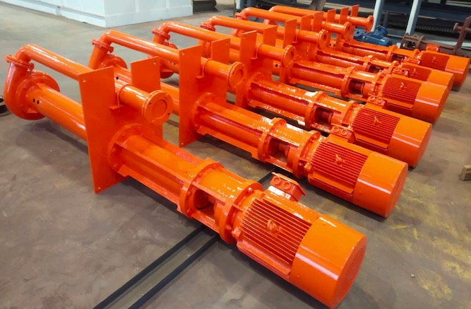 Slurry pump delivered overseas for mud recycling user