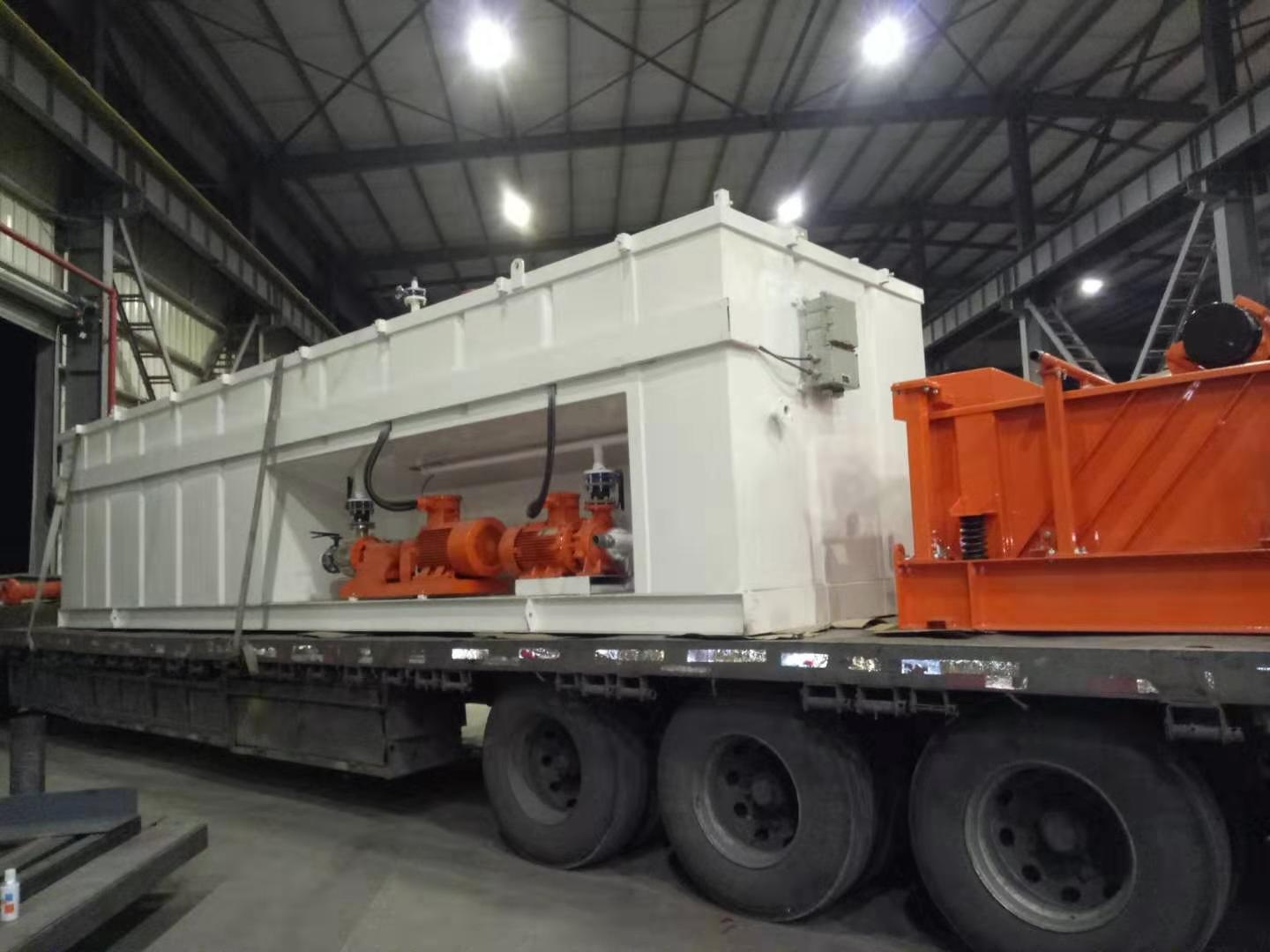 2 sets of ZJ20 rig solids control system delivered last days