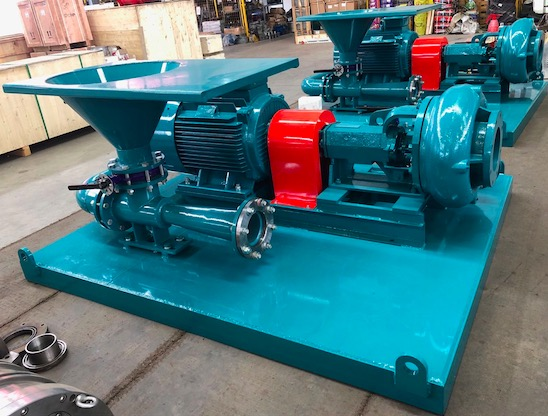 Mud mixing pump to be delivered for mud recycling system