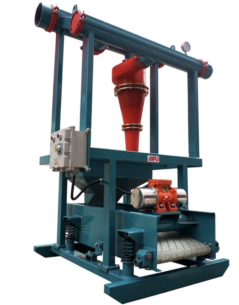 Drilling mud equipment-desander