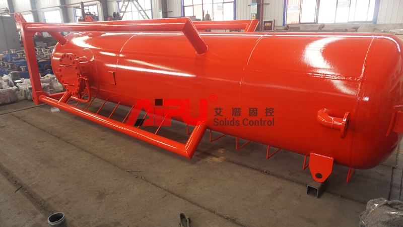 Drilling mud gas separator is ready to deliver