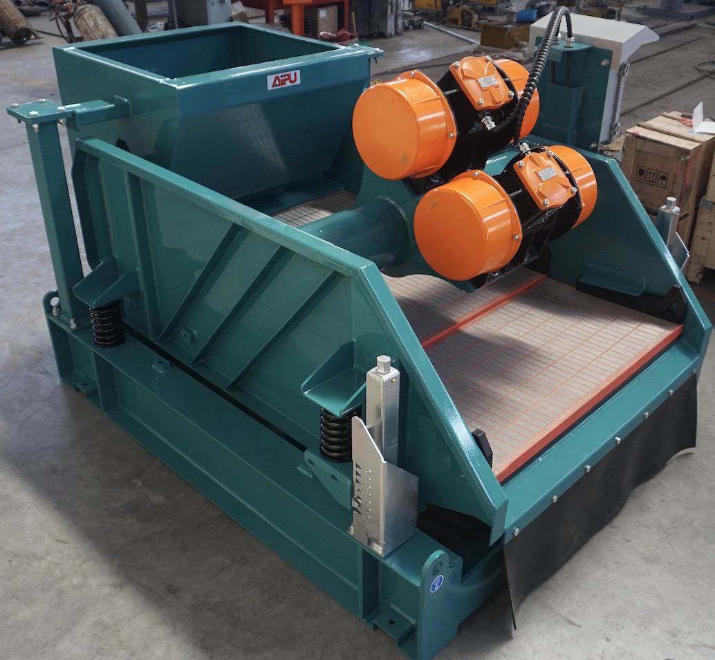 Shale shaker delivered to Japanese drilling company