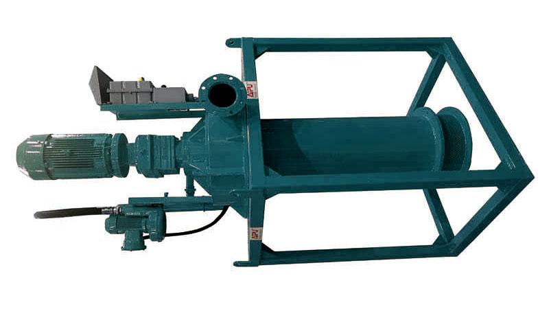 centrifugal degasser