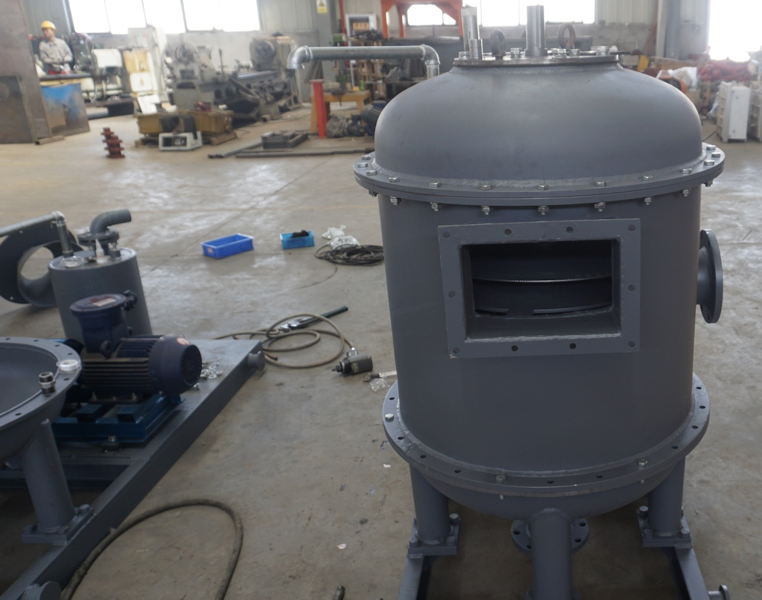 Repeat order on vacuum degassers to oilfield service company