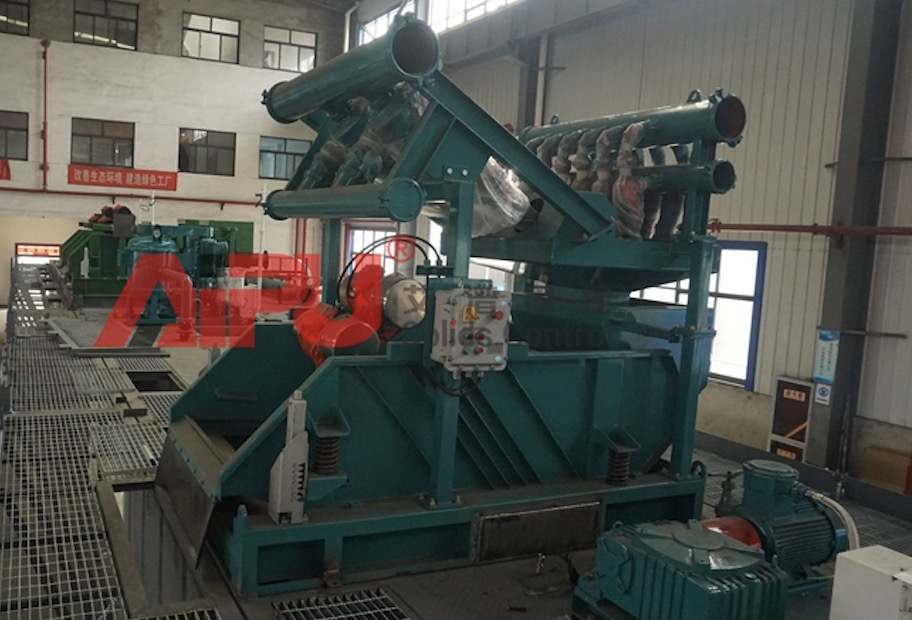 ZJ90 oil rig solids control system has been delivered successfully