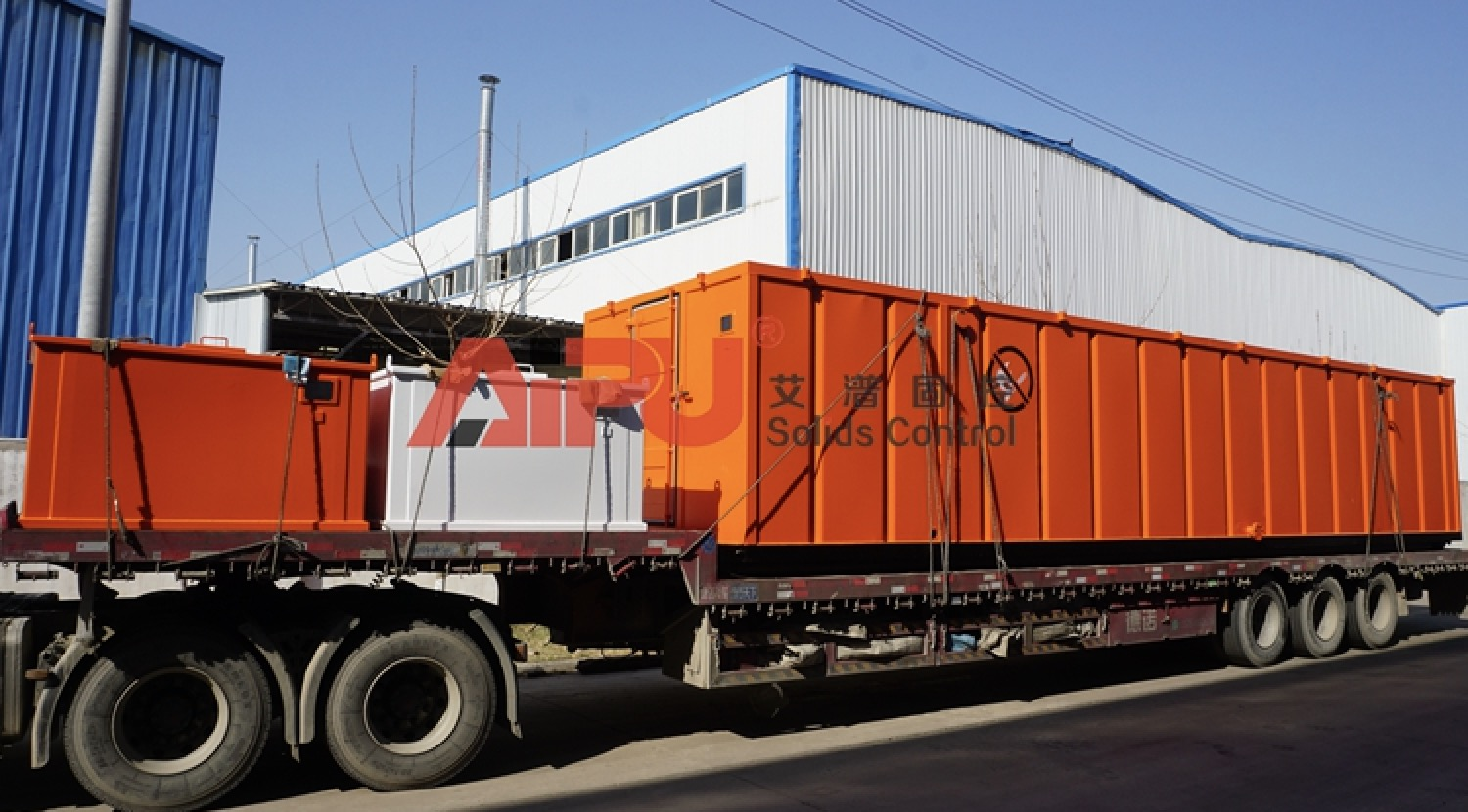 Diesel oil tanks delivered to oversea project