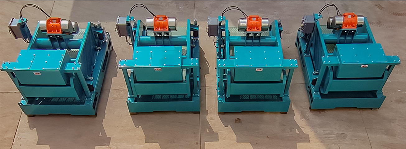 Hunter-D4 shale shakers to be delivered for oversea project