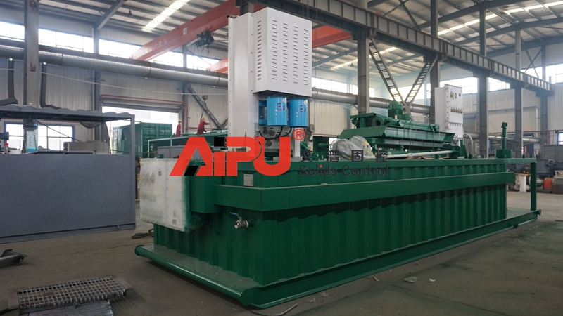 AIPU Drilling waste mud management