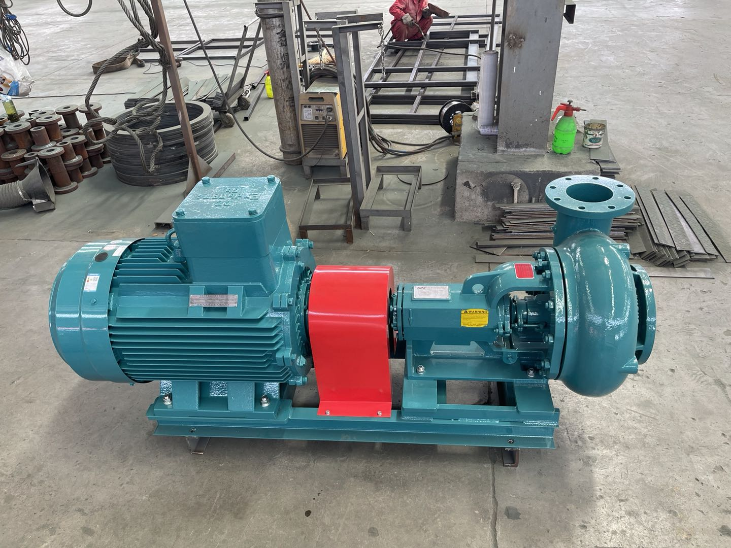 Centrifugal pump delivery after holidays