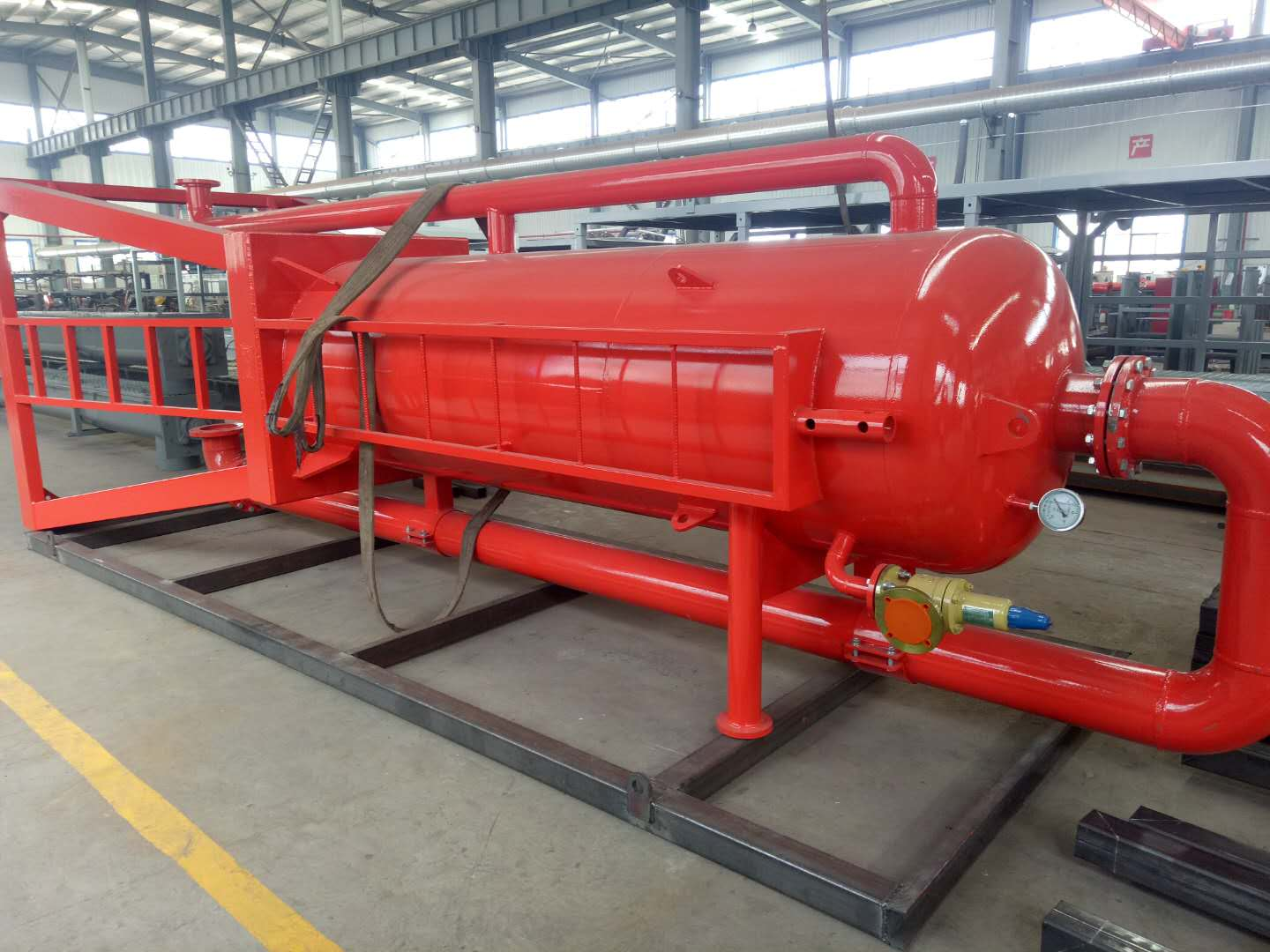 Pressure mud gas separator(4Mpa) for sale in stock