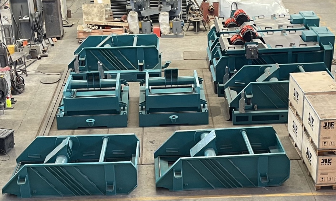 Ten set of shale shakers to deliver for regular clients