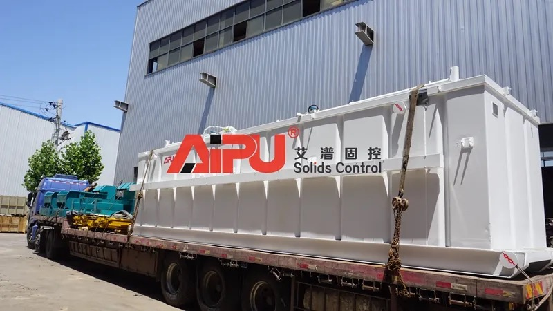 Solids control system for CBM drilling mud system upgrade