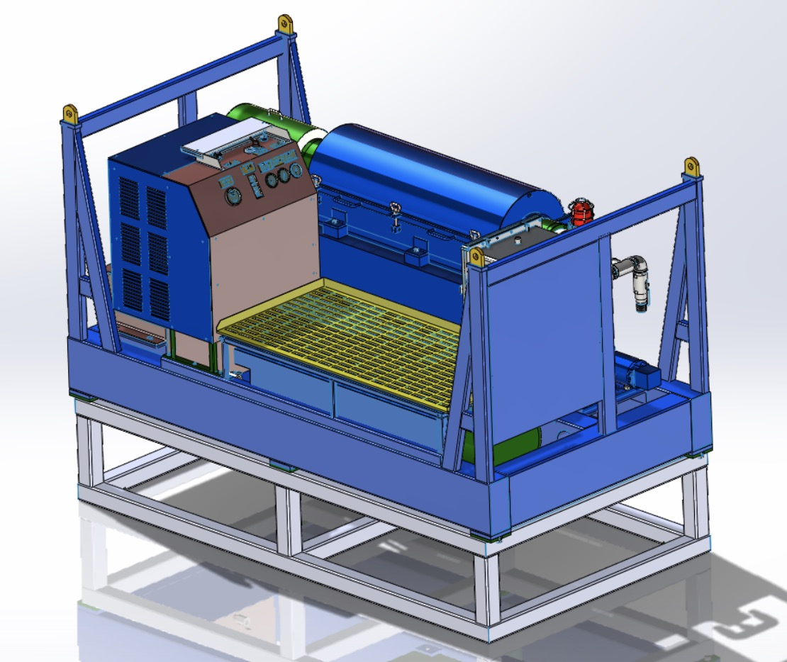 Manufacture of solids control system for ZJ50 in Europe