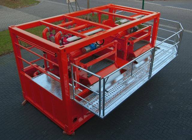hdd mud recycling unit